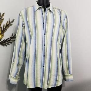 c95080148fe Indigo Palms Shirts - Indigo Palms Denim Co. Shirt Long Sleeve XXL Linen